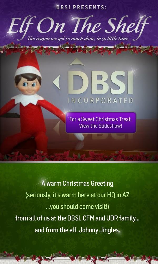 Elf on the Shelf - DBSI style