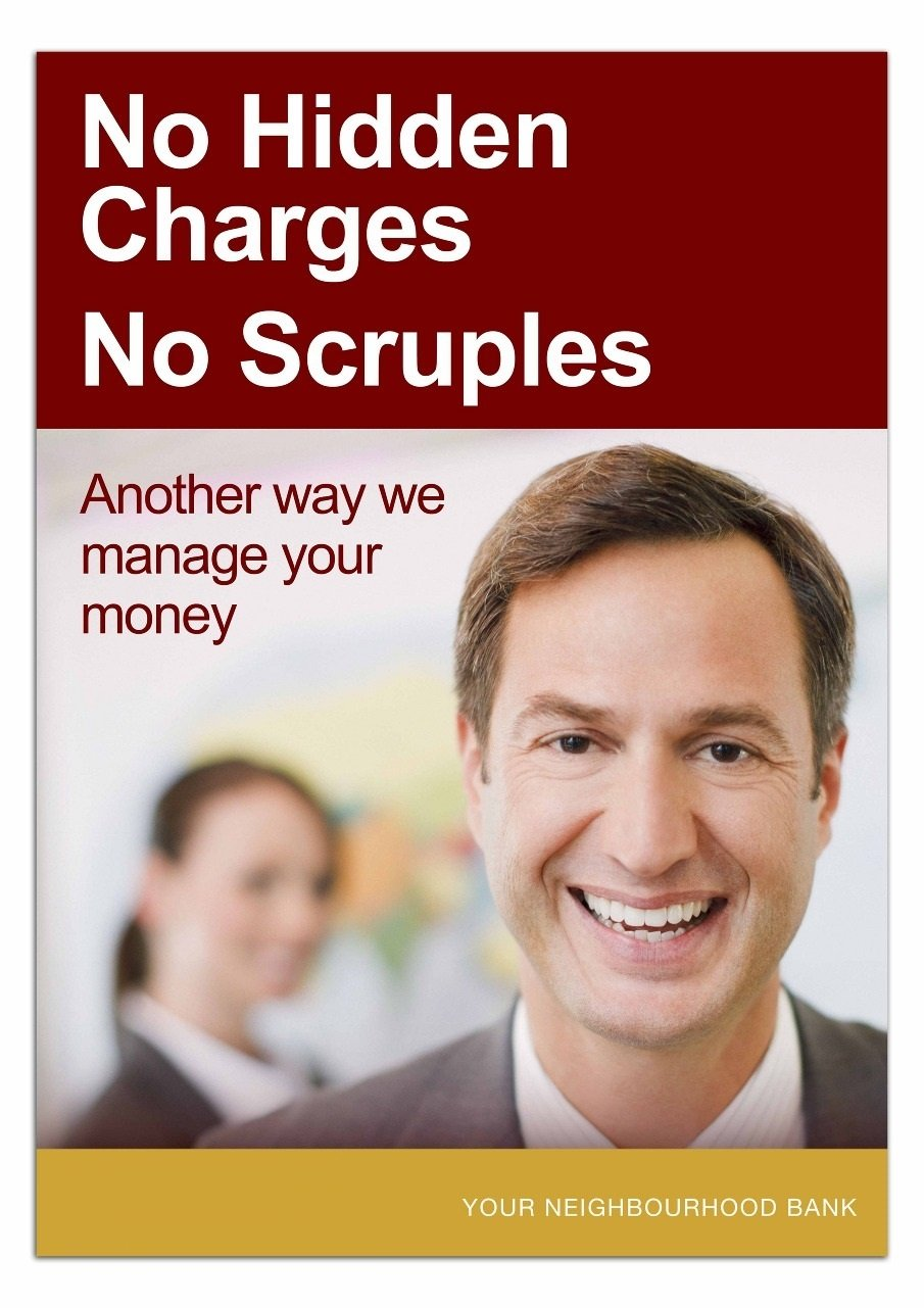 Static Banking Poster