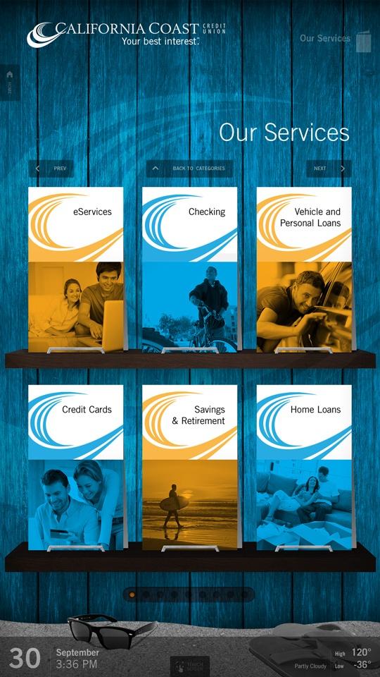 Digital Brochure Rack