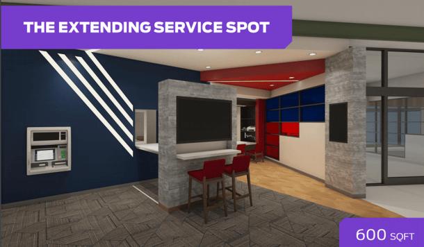 The Extending Service Spot