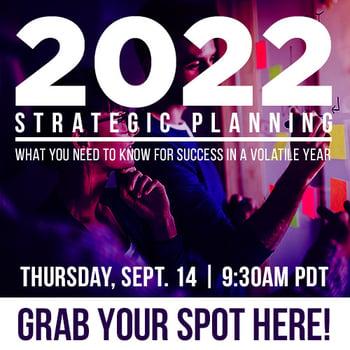 2022 Strategic Planning Wbinar
