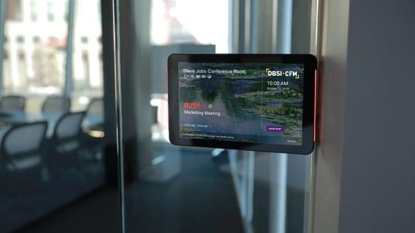 DBSI meeting room digital signage