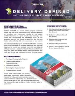 delivery defines