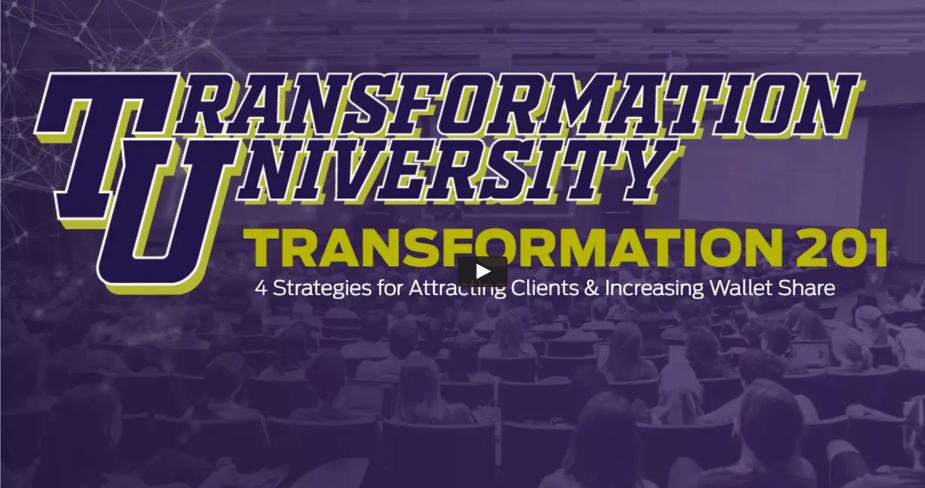 Transformation University 201