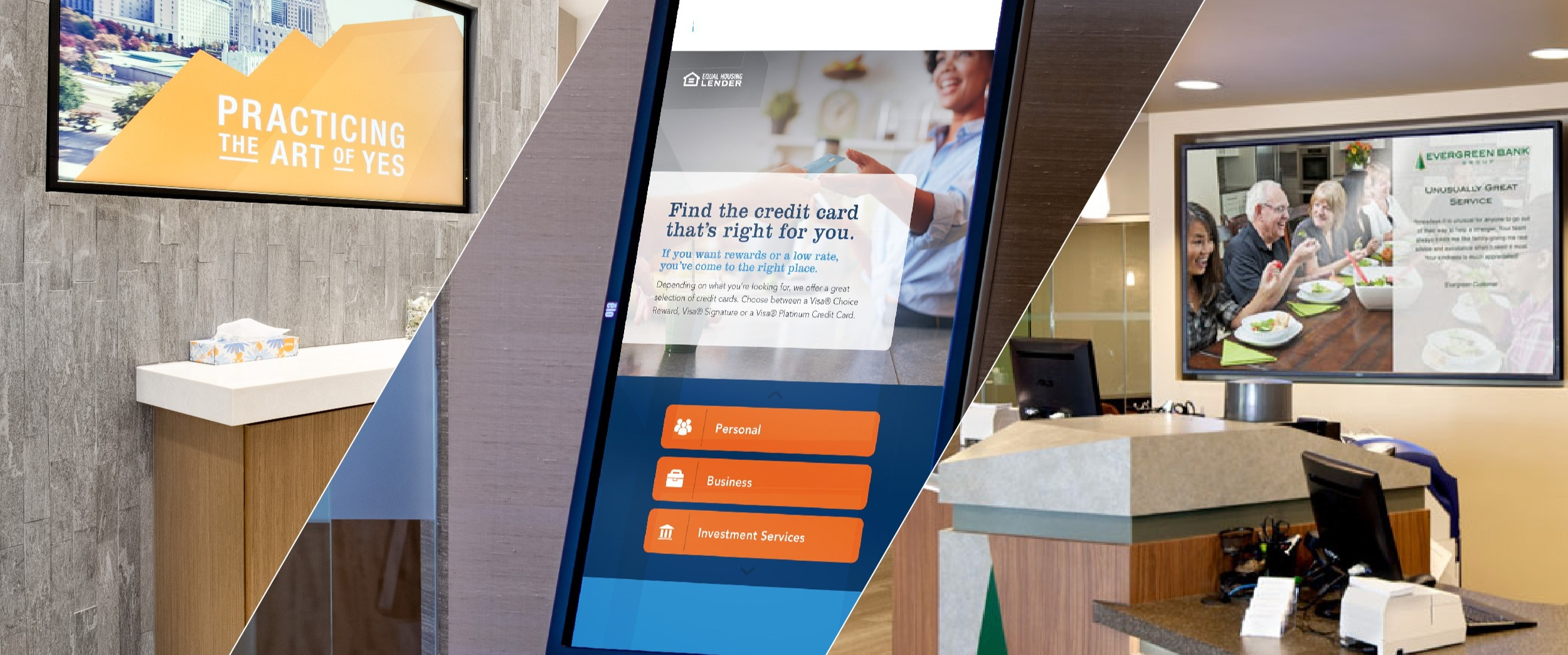 7 Ways Every Financial Institution Should Be Using Digital Signage