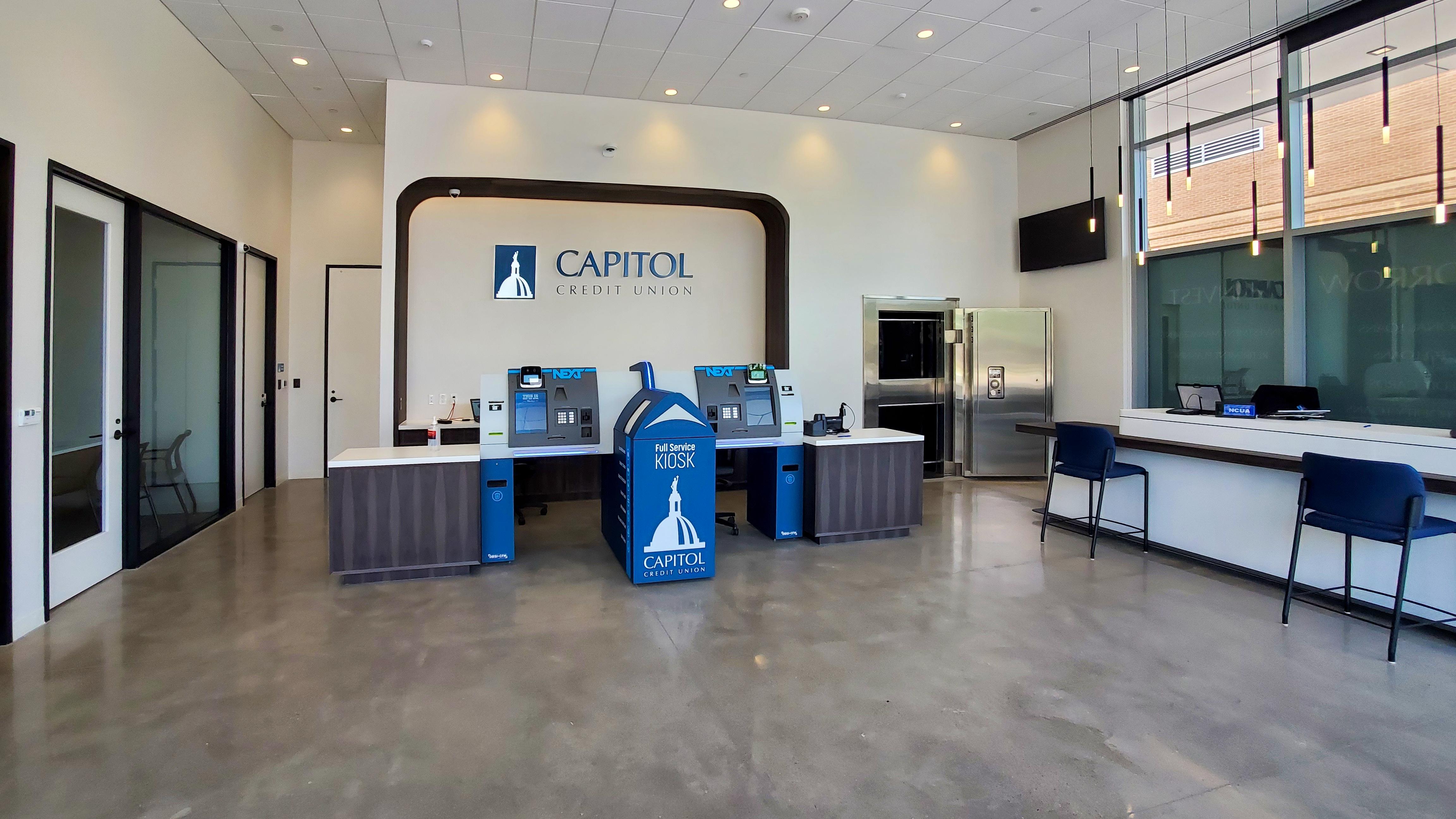 Capitol Credit Union High-Tech Branch
